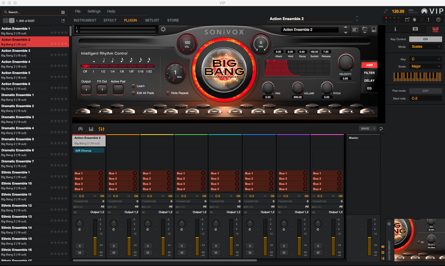 Akai Professional VIP 3.0 Screenshot